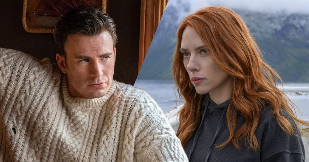 Chris Evans and Scarlett Johansson to star in Dexter Fletcher's Ghosted