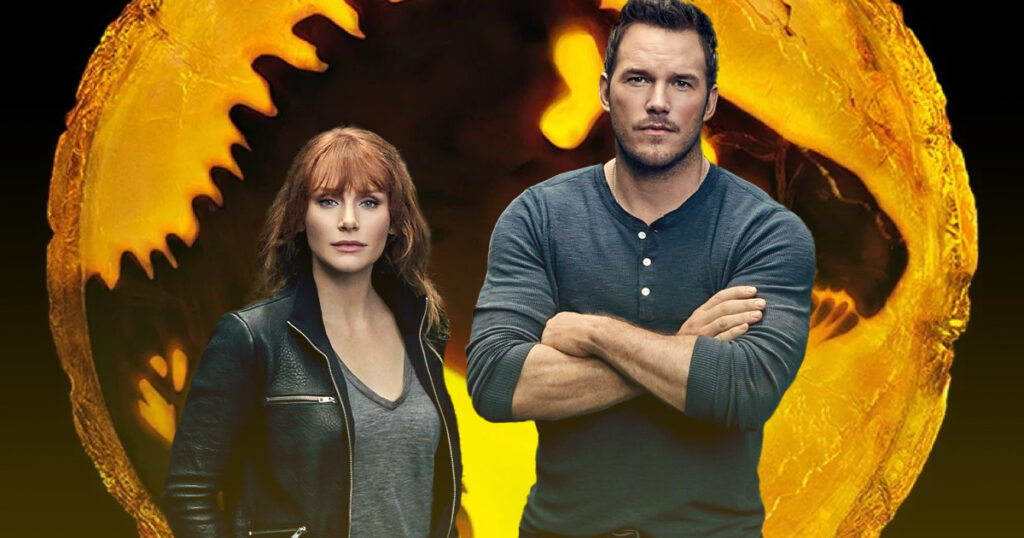 Jurassic World: Dominion Chris Pratt Bryce Dallas Howard