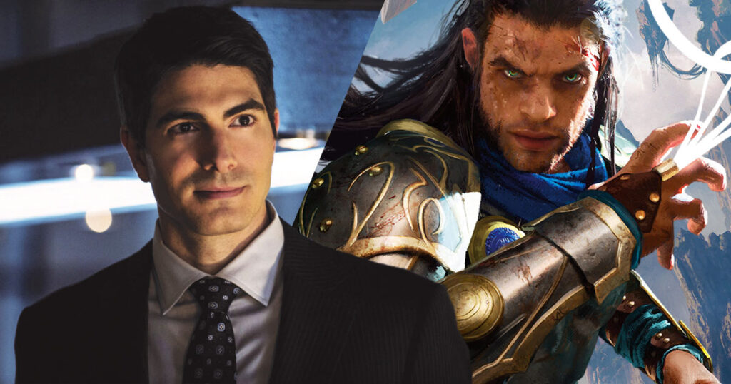 Brandon Routh has been cast as Gideon the Planeswalker for Netflix's Magic: The Gathering animated series