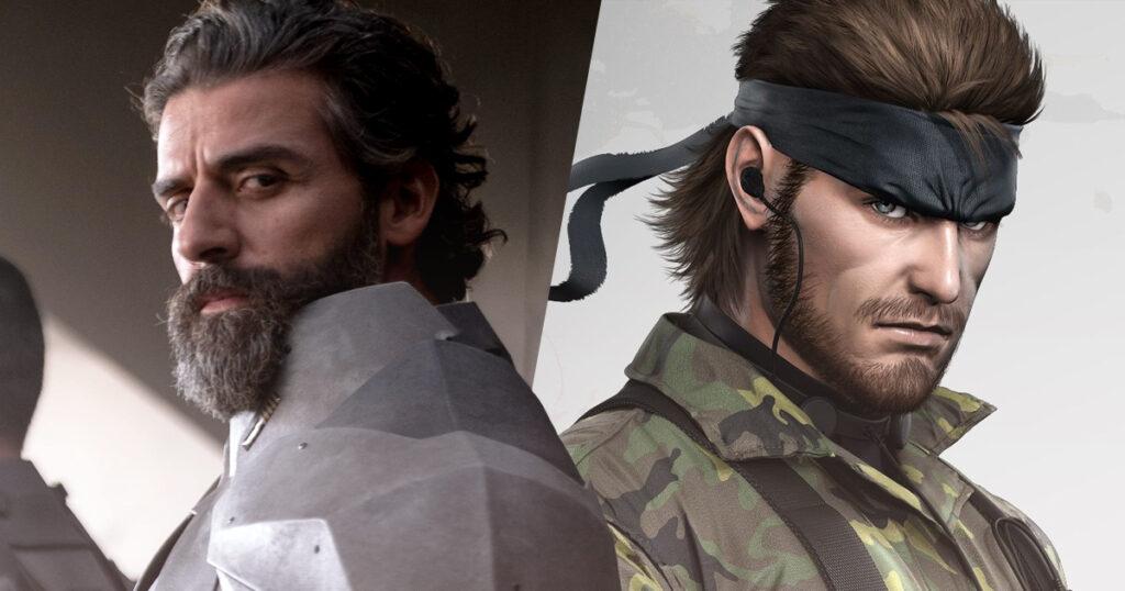 Metal Gear Solid movie Oscar Isaac
