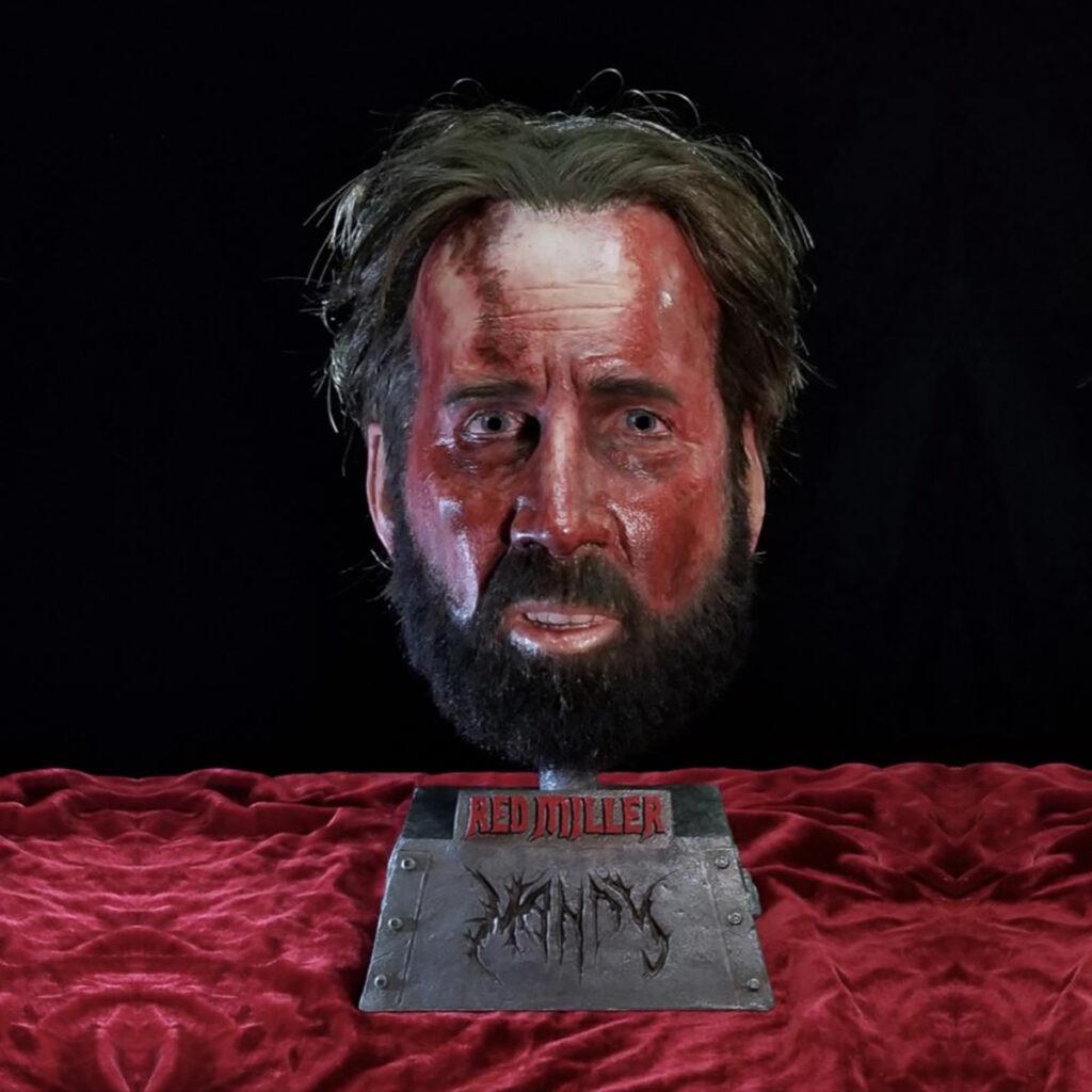 Nicolas Cage mask Mandy
