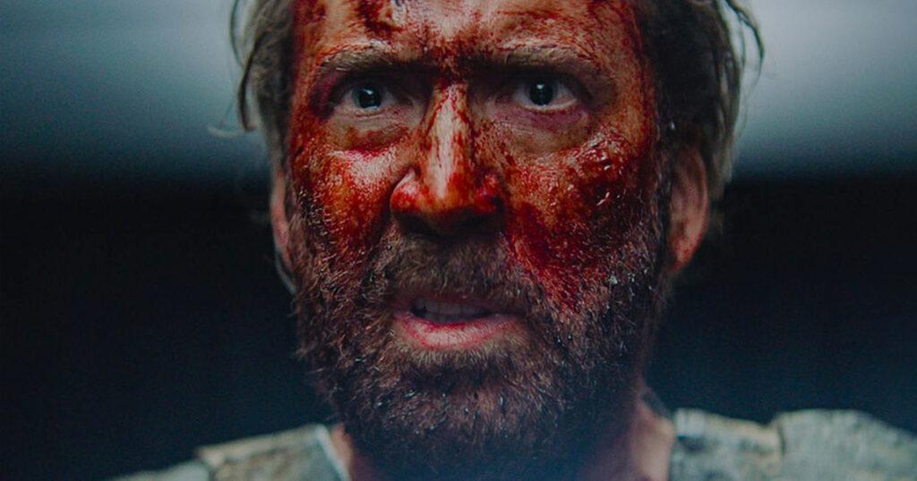 Nicolas Cage Mandy mask