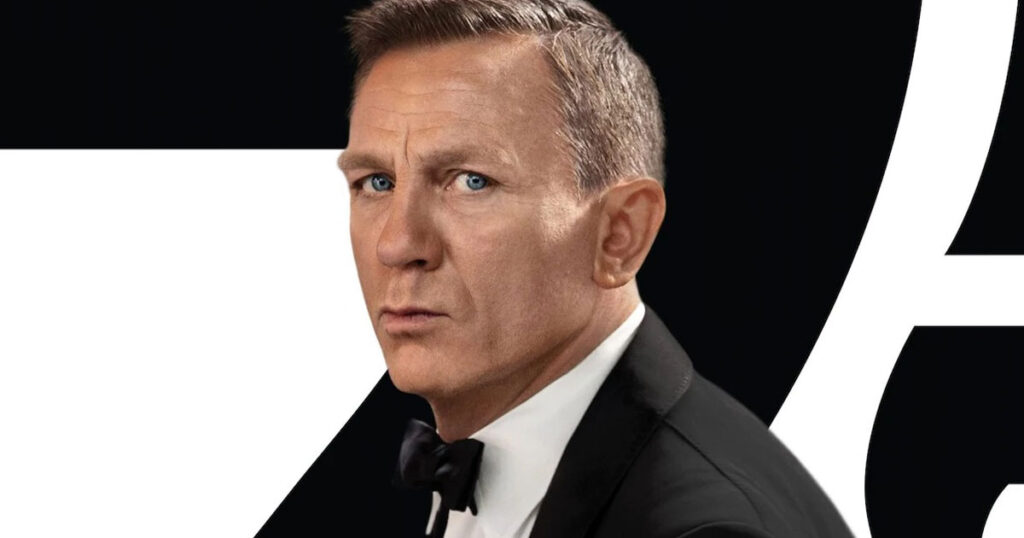 Daniel Craig delivers farewell speech to the crew of No Time to Die