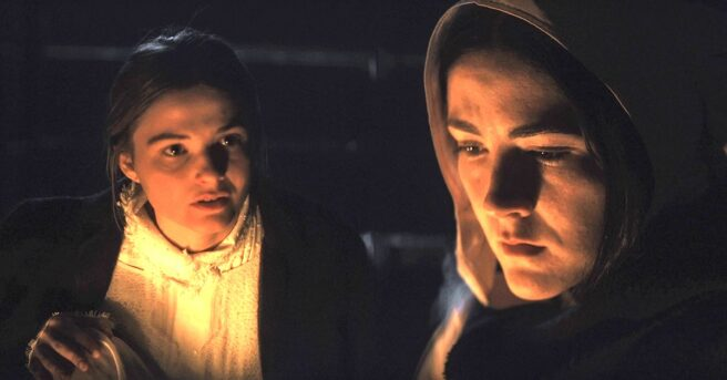 Arrow in the Head reviews the religious horror film The Last Thing Mary Saw, starring Isabelle Fuhrman and Stefanie Scott