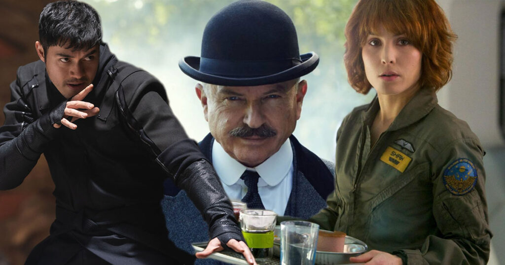Henry Golding, Noomi Rapace, and Sam Neill to star in Assassins Club