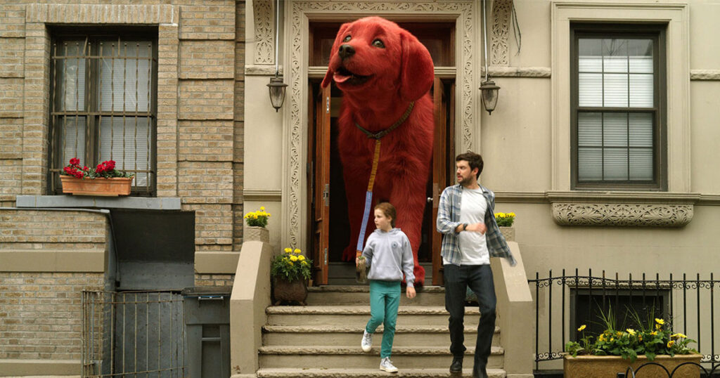 Clifford: The Big Red Dog goes day-and-date in theaters and on Paramount+