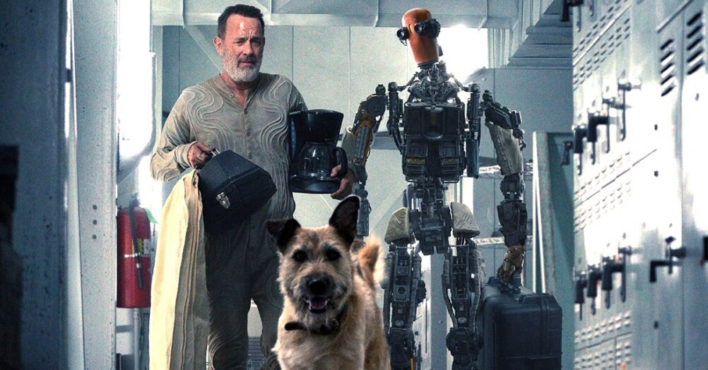 A trailer has been released for Finch, about Tom Hanks enduring the apocalypse with a dog and a robot. Coming to Apple TV+