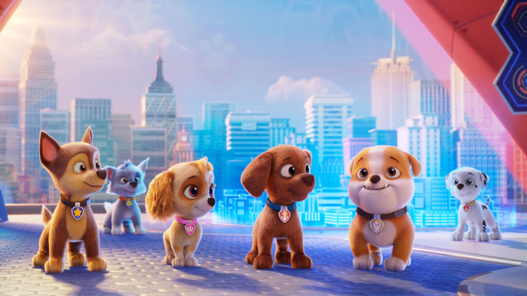 paw patrol weekend box office fourth 2 Entertainment