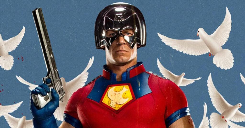 John Cena suits up as DC's Peacemaker
