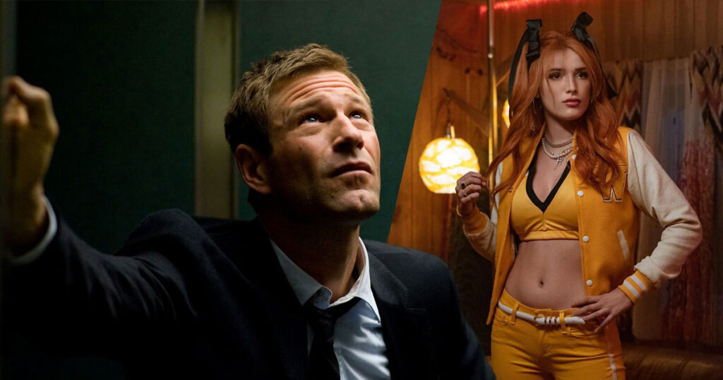 Bella Thorne to star in Rumble Through the Dark with Aaron Eckhart