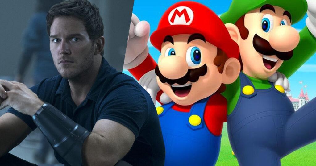 super Mario bros animated movie, Chris pratt