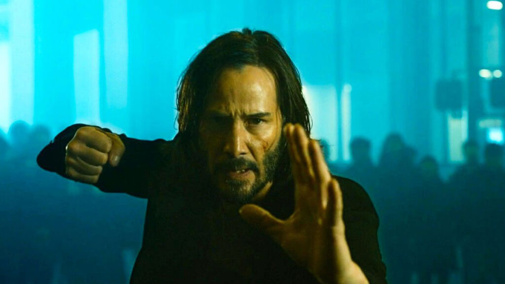 The Matrix 4 footage teases the arrival of the film's first trailer