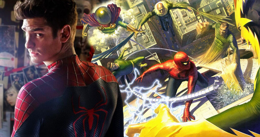 The Sinister Six Andrew Garfield Spider-Man