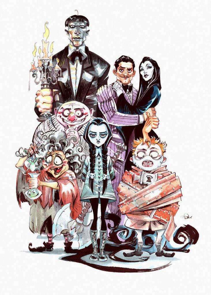 Addams Family 008 Entertainment