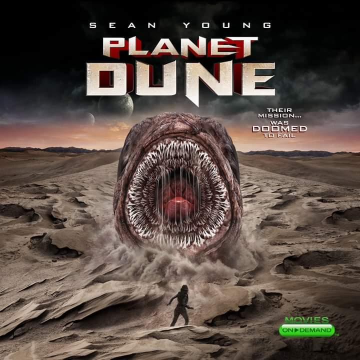 Planet Dune trailer poster Sean Young