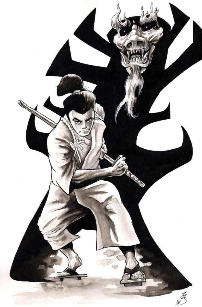 Samurai Jack 008 Entertainment