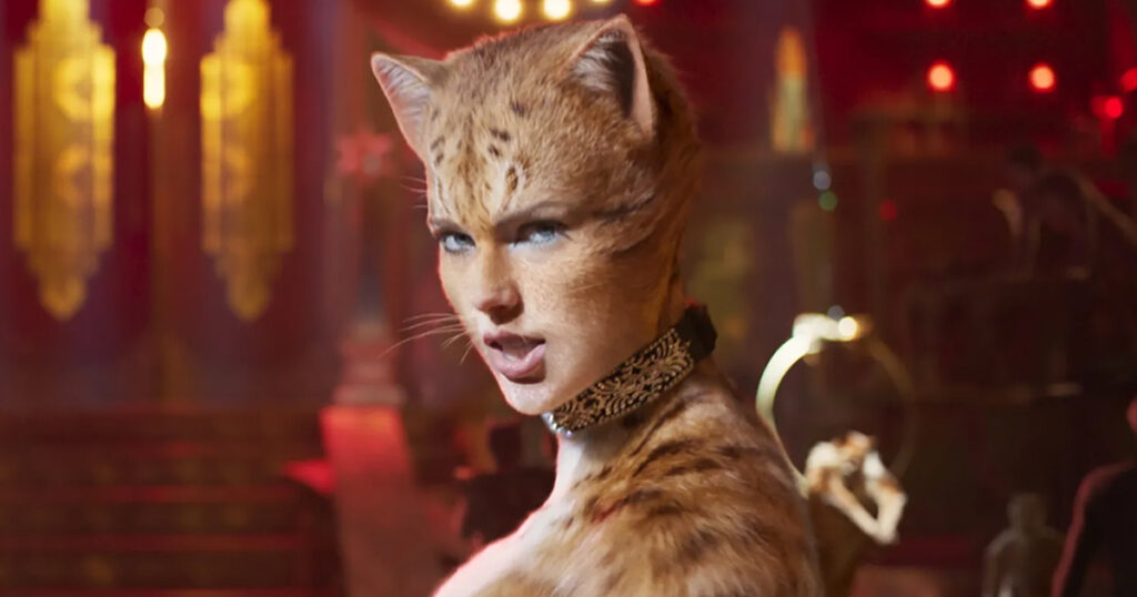 Cats movie, Andrew Lloyd Webber, Taylor Swift