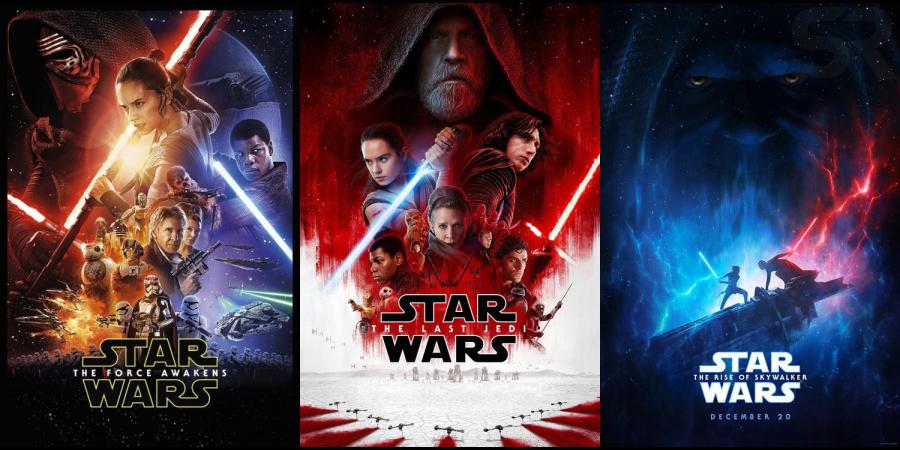Star Wars, sequel trilogy, Star wars: The force awakens, star wars: the last jedi, star wars: the rise of skywalker, disney+, disney plus, twitter, disney+ latin america