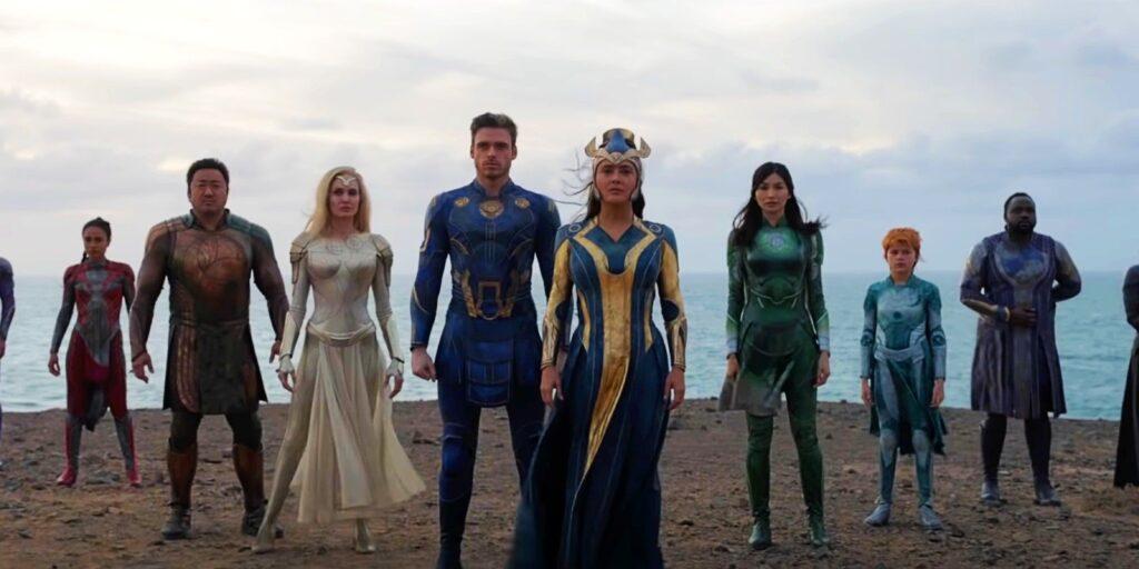 Eternals, box office, advanced ticket sales, shang-chi, black widow, marvel