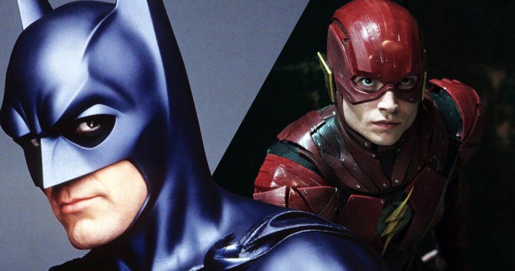 George Clooney, The Flash, Batman, Batman & Robin