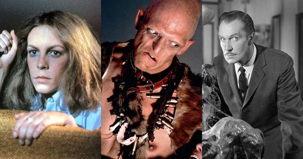 Halloween The Hills Have Eyes House on Haunted Hill Best Horror Movies on Shudder Right Now