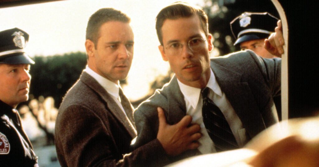 L.A. Confidential, sequel, Guy Pearce, Russell Crowe