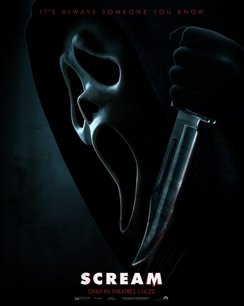 New Scream movie Scream 5 Scream 2022