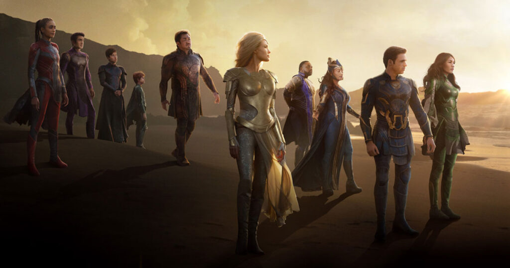 Eternals, Marvel Studios, TV spot