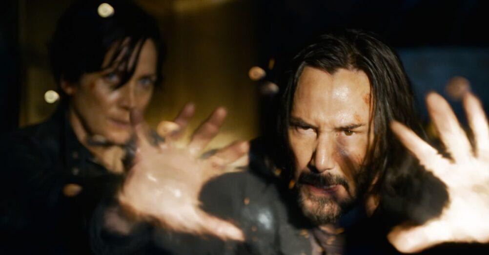 Da Matrix Resurrections, Keanu Reeves, Carrie-Anne Moss, MPAA, Rated R